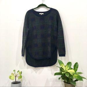 Madewell High Low Wool Sweater - XS